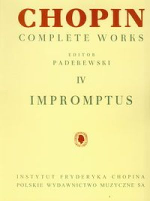 Chopin Complete Works IV Impromptus