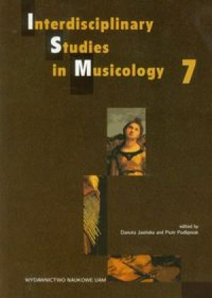 Interdisciplinary Studies in Musicology 7
