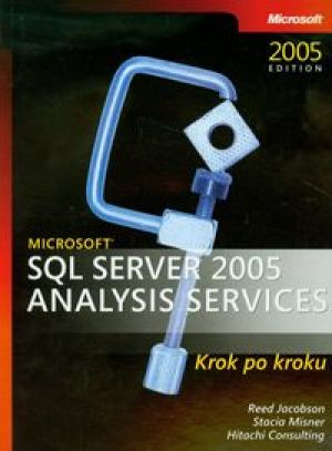 Microsoft SQL Server 2005 Analysis Services krok po kroku + CD - Jacobson Reed, Misner Stacia, Consulting Hitachi